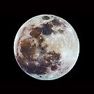 The Full Moon in Colour by Mike Salway