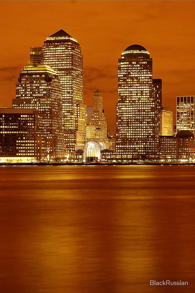 Golden World Financial Center by BlackRussian