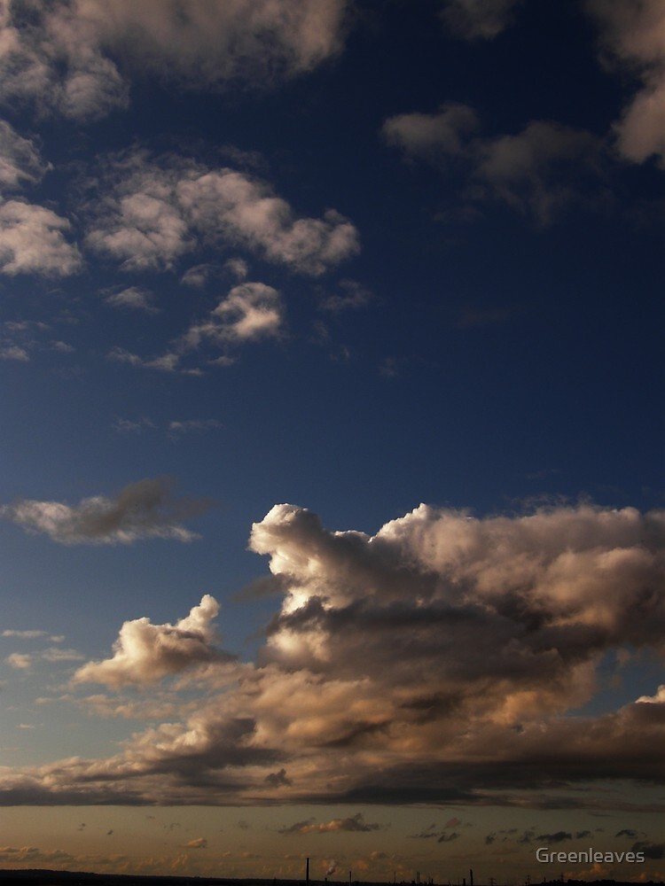 Clouds by Greenleaves