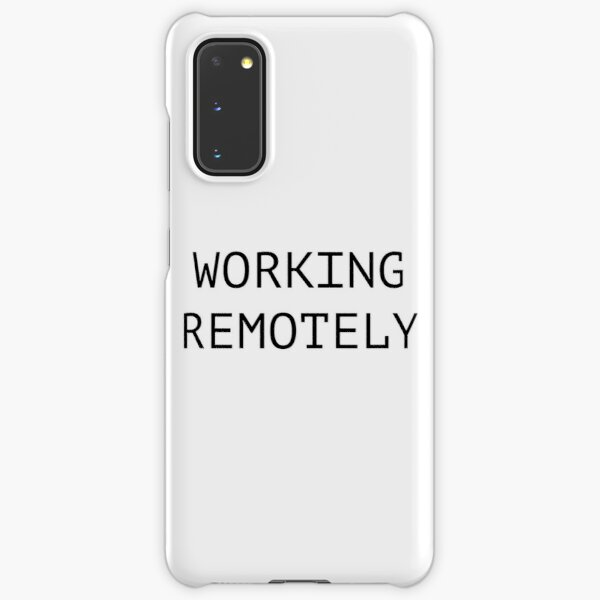Working Remotely Samsung Galaxy Snap Case