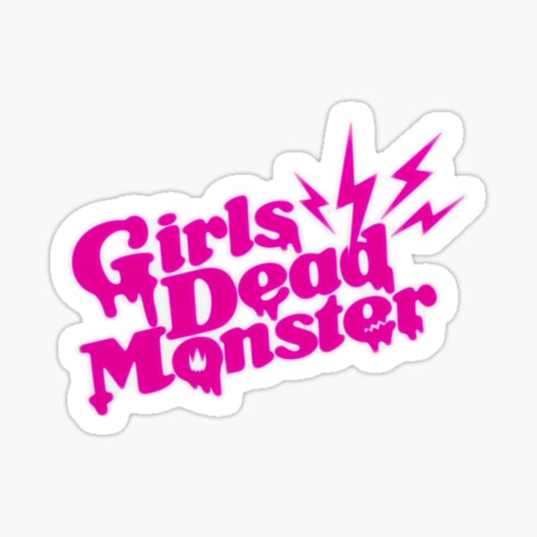 Girl's Dead Monster - Angel Beats! Pegatina