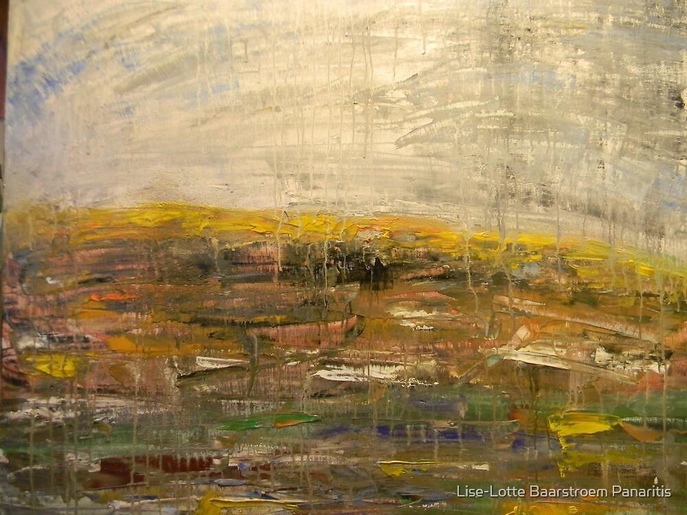 Art is the strengh between earth and heaven by Lise-Lotte Baarstroem Panaritis