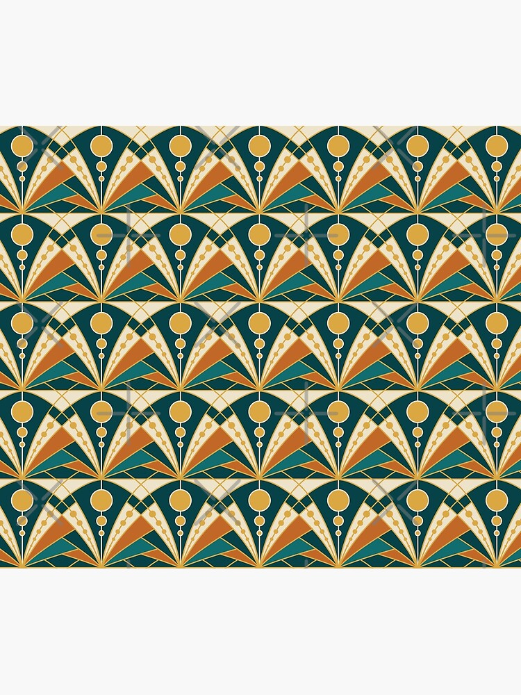 Art Deco (Green, rusty and gold) by lents