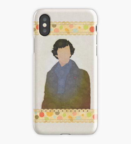 Shabby Sherlock iPhone Case