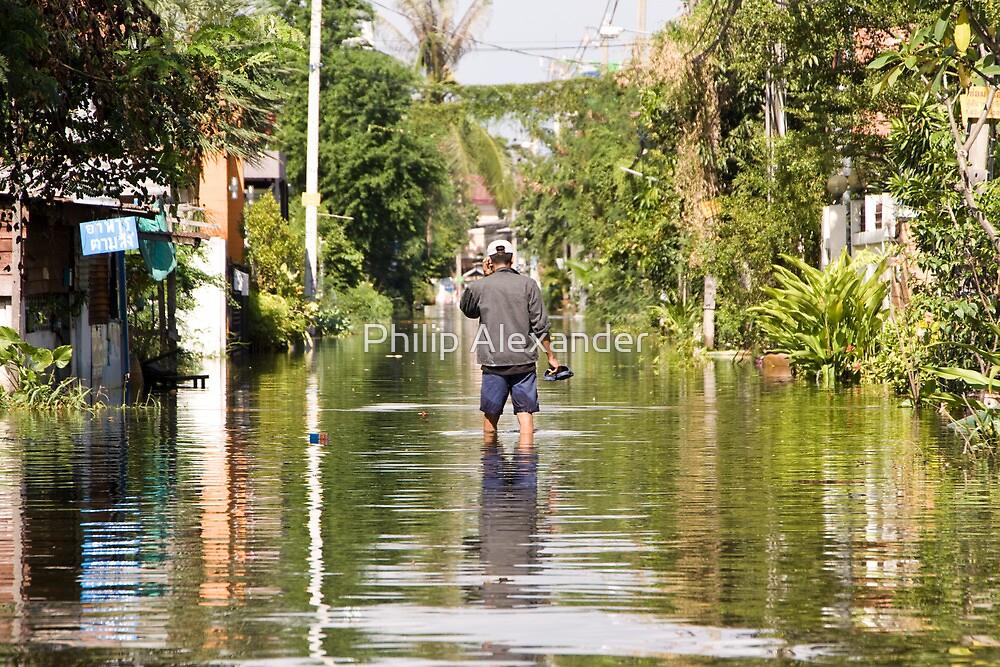 Thailand floods by Philip Alexander