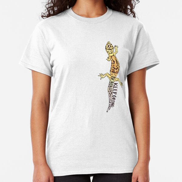 Keep Going Gecko  Classic T-Shirt