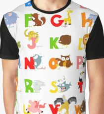 ABC (english) Graphic T-Shirt