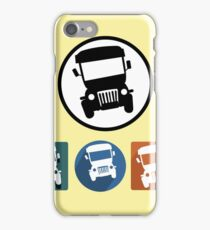 Jeepney icons iPhone Case/Skin