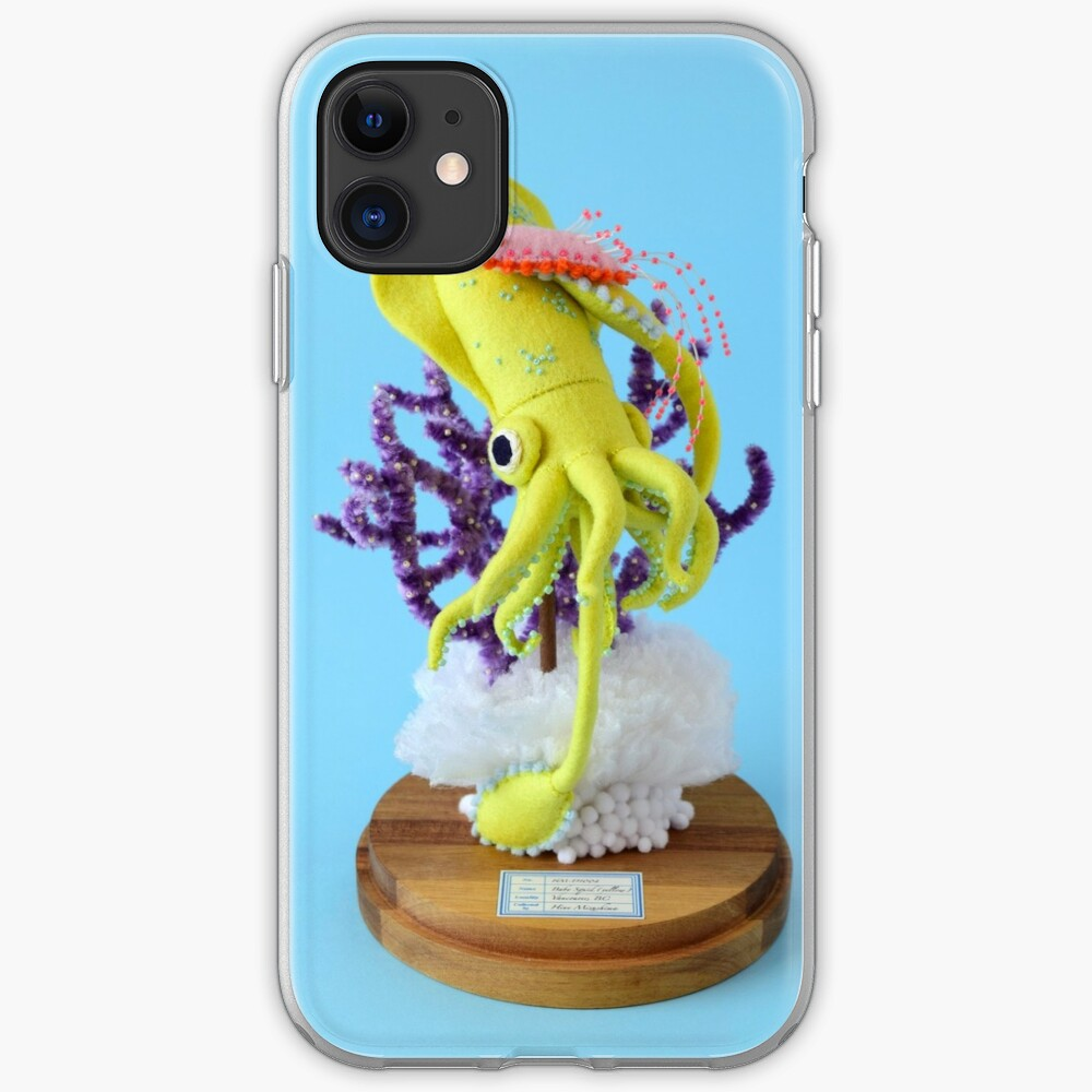 Baby Squid & Long-tailed Sea Slug iPhone Case & Cover