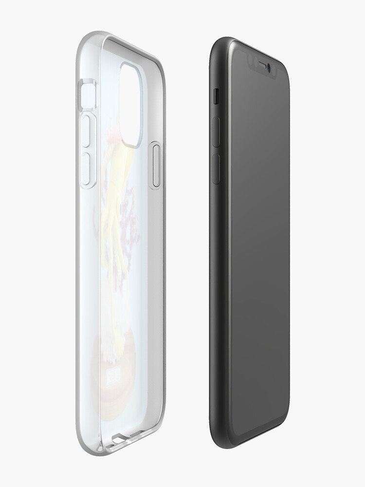 Alternate view of Baby Squid & Long-tailed Sea Slug iPhone Case & Cover