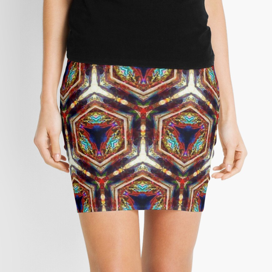 Kaleidoscope Kreation 1033 Mini Skirt