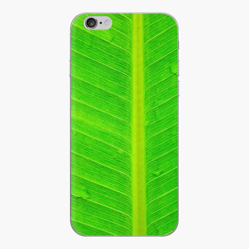 Banana green leaf - case iPhone Klebefolie