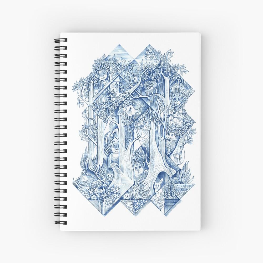Jungle hide-and-seek Spiral Notebook