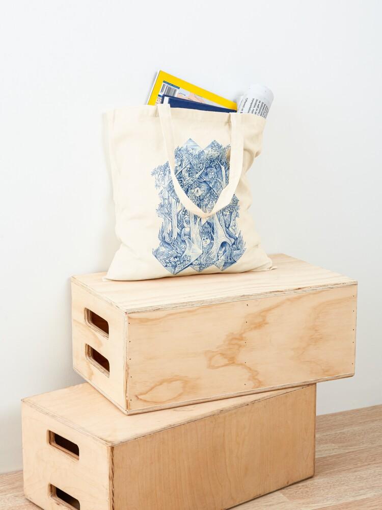Alternate view of Jungle hide-and-seek Tote Bag