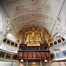 Pipe organ in Celle, Germany by Jenny Setchell