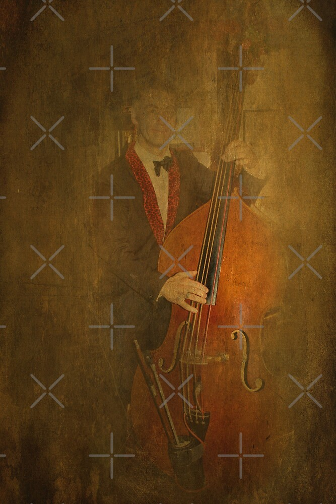 Mr Bass Man by Catherine Hamilton-Veal  ©