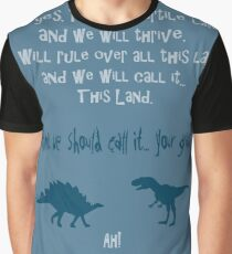 curse your sudden but inevitable betrayal, firefly, blue Graphic T-Shirt