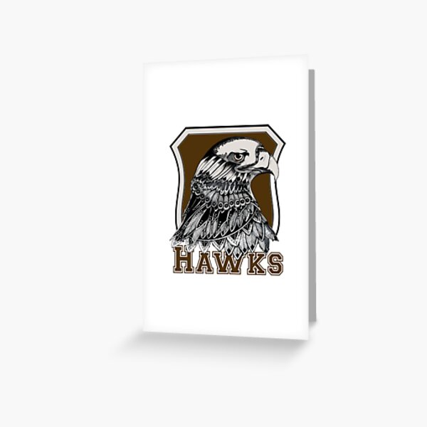 The hawks AFL  Greeting Card