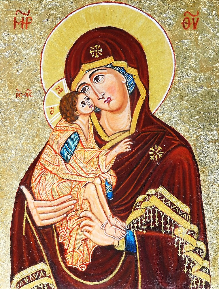 Mary Mother of God by ivDAnu