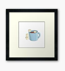 Cocoa and Marshmallows Framed Print