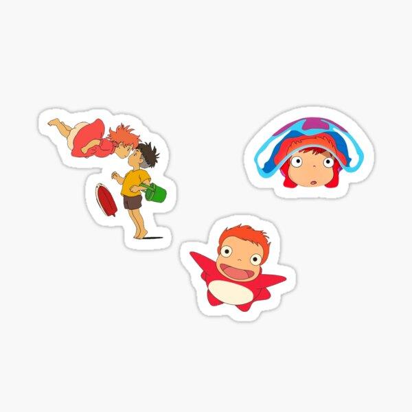 Ponyo sticker pack  Sticker