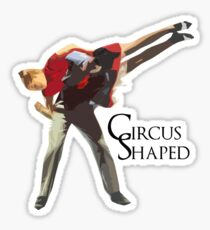 Circus Shaped Sticker