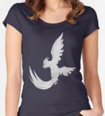 Articuno - B&W by Derek Wheatley Women's Fitted Scoop T-Shirt