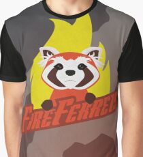 Fire Ferrets Graphic T-Shirt