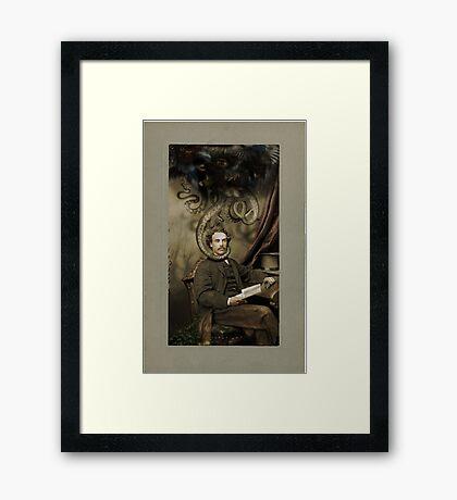 Industrial Romance Framed Print