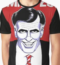 Mitt Romney: American Psycho Graphic T-Shirt