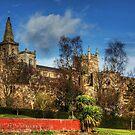 Abbey Ruins and Abbey Church by Tom Gomez