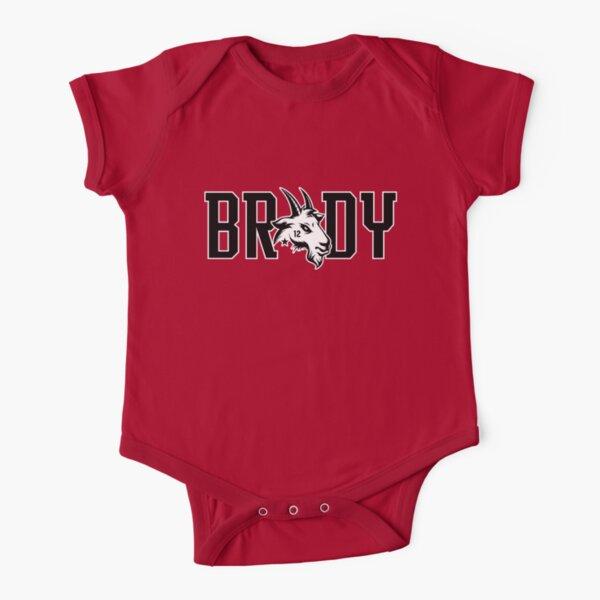 Brady 12 - The Goat Short Sleeve Baby One-Piece