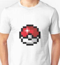 Pixel art Pokeball T-Shirt