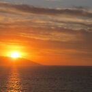 Sunset in Yellow - Puesta del Sol Amarilla by PtoVallartaMex