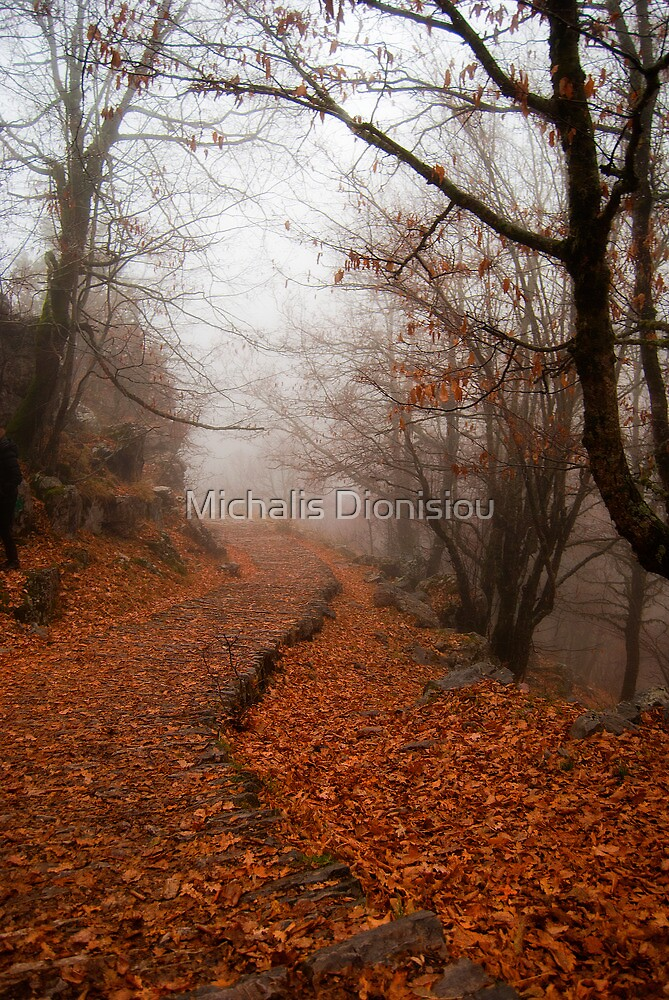 Walking alone by Michalis Dionisiou