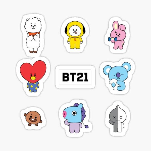 BT21  Sticker