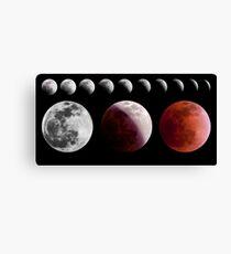 Total Lunar Eclipse, December 2011 Canvas Print