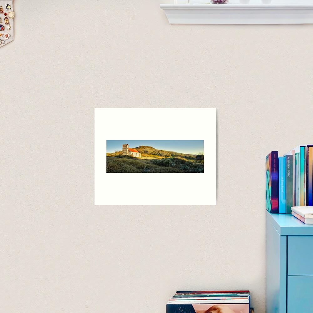 Spargos Hut Dawn, Mount Hotham, Victoria, Australia Art Print