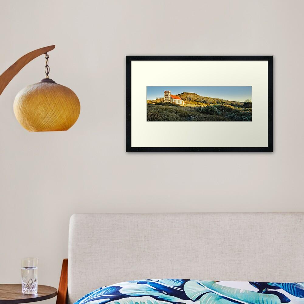 Spargos Hut Dawn, Mount Hotham, Victoria, Australia Framed Art Print
