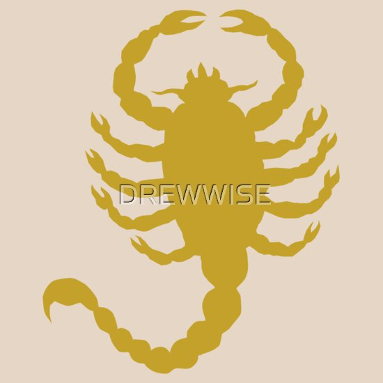 TShirtGifter presents: DRIVE SCORPION (GOLD)