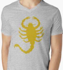 DRIVE SCORPION (GOLD) Men's V-Neck T-Shirt