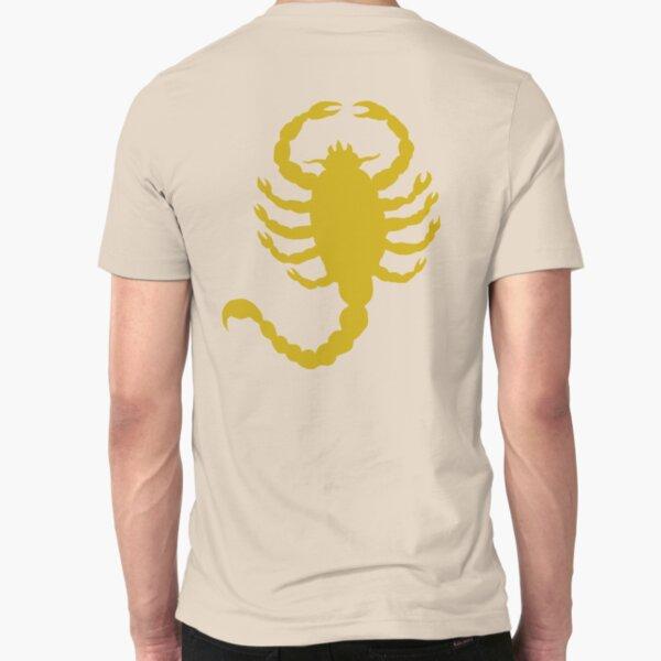 DRIVE SCORPION (GOLD) Slim Fit T-Shirt