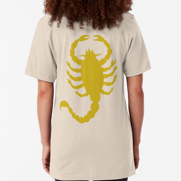 DRIVE SCORPION (GOLD) Slim Fit T-Shirt