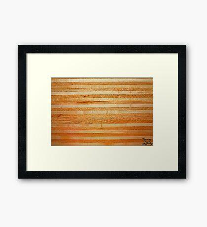 Coffee Table Image Landscape Framed Print