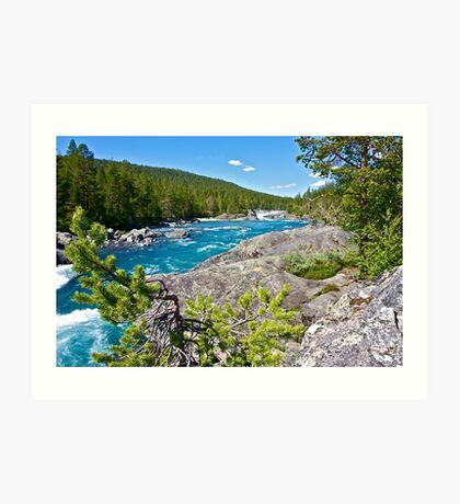 Like a dream river . Oppland . Norway . by Brown Sugar . Views (311)... Fabulous Norway !!! Art Print