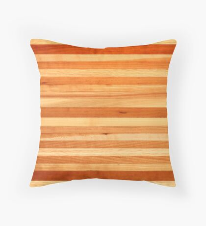 Piano Key Coffee Table Landscape Throw Pillow