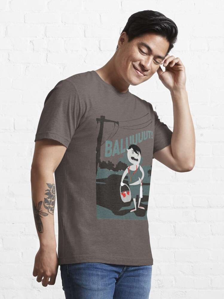 Alternate view of Pinoy Prints: Balut vendor Essential T-Shirt