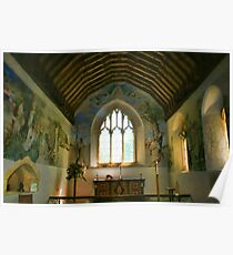 St Cosmos and St Damian, Challock - Chancel Poster