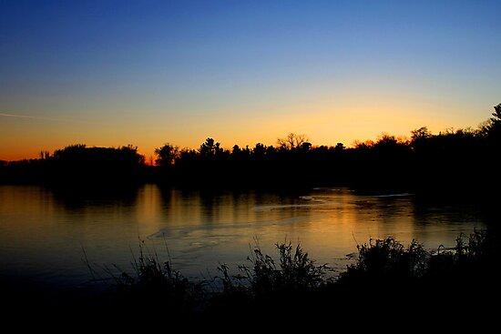 Sunset  12/11/11 Joshua Fronczak by Joshua Fronczak