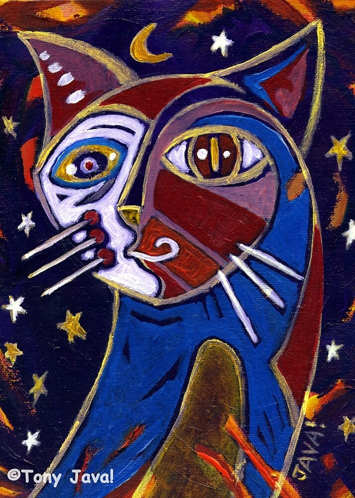 'Midnight Cat' by Jerry Kirk